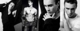 ensaio fotografico masculino preto e branco
